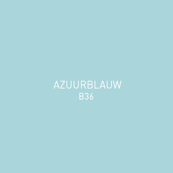Azuurblauw B36