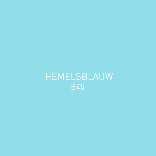 Hemelsblauw B45
