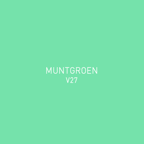Muntgroen V27