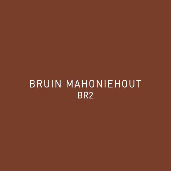 Bruin Mahoniehout BR2